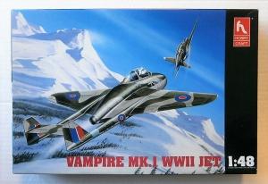 HOBBYCRAFT 1/48 1573 VAMPIRE Mk.I