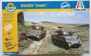ITALERI 1/72 7520 M4A3E2 JUMBO