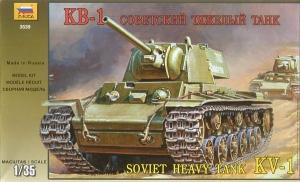 ZVEZDA 1/35 3539 SOVIET KV-1