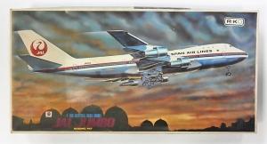 NITTO 1/100 340 BOEING 747 JAL JUMBO  UK SALE ONLY