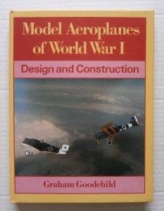 CHEAP BOOKS  ZB010 MODEL AEROPLANES OF WORLD WAR I DESIGN AND CONSTRUCTION