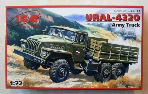 ICM 1/72 72611 URAL-4320 SOVIET ARMY CARGO TRUCK