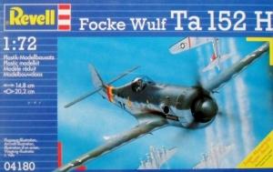 REVELL 1/72 04180 FOCKE WULF Ta 152H