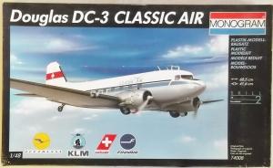 MONOGRAM 1/48 74008 DOUGLAS DC-3 CLASSIC AIR