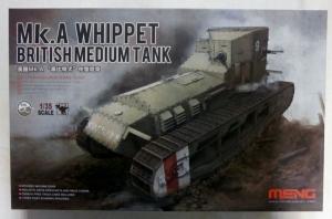 MENG 1/35 TS-021 Mk.A WHIPPET BRITISH MEDIUM TANK
