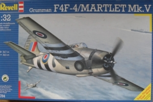 REVELL 1/32 4784 GRUMMAN F4F-4/MARTLET Mk.V
