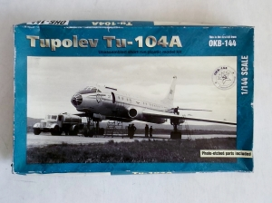RUSSIAN MAKE 1/144 101 TUPOLEV Tu-104A AEROFLOT