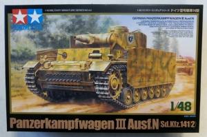 TAMIYA 1/48 32543 PANZERKAMPFWAGEN III Ausf.N