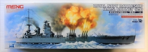 MENG 1/700 PS-001 ROYAL NAVY BATTLESHIP HMS RODNEY  29
