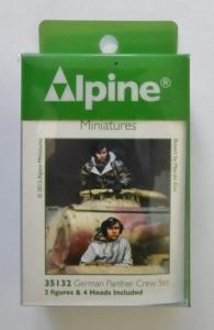 ALPINE MINIATURES 1/35 35132 GERMAN PANTHER CREW SET