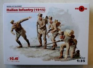 ICM 1/35 35687 ITALIAN INFANTRY  1915