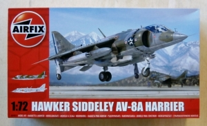 AIRFIX 1/72 04057 HAWKER SIDDELEY AV-8A HARRIER