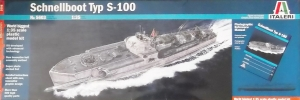 ITALERI 1/35 5603 SCHNELLBOOTE TYP S-100  UK SALE ONLY