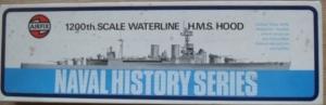 AIRFIX 1/1200 02701 HMS HOOD
