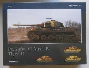 EDUARD 1/35 3715 Pz.Kpfw VI Ausf.B TIGER II
