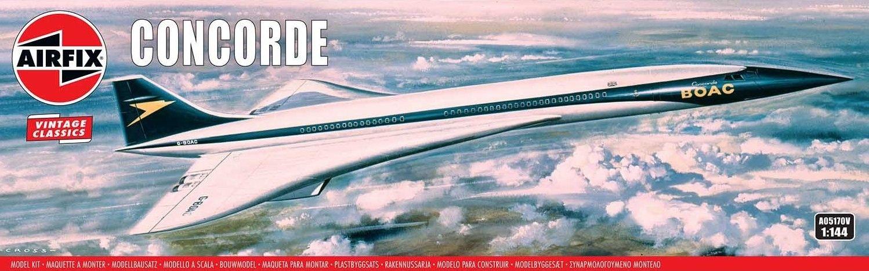 AIRFIX 1/144 A05170V VINTAGE CLASSICS BOAC CONCORDE