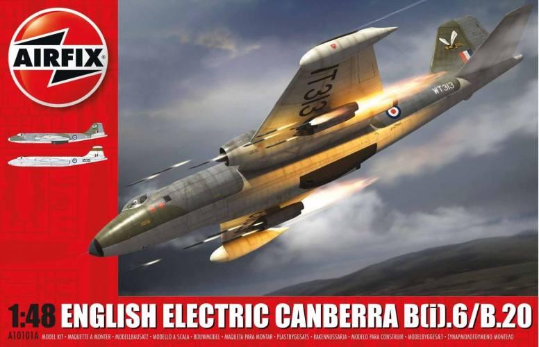 AIRFIX 1/48 10101C ENGLISH ELECTRIC CANBERRA B I .6/B.20 INCLUDES EXTRA SCHEME