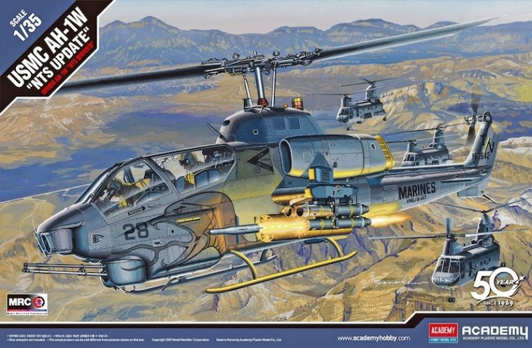 ACADEMY 1/35 12116 USMC AH-1W NTS UPDATE