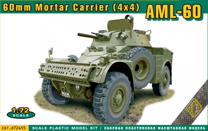 ACE 1/72 72455 AML-60 60MM MOTAR CARRIER