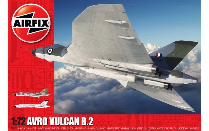 AIRFIX 1/72 12011 AVRO VULCAN B.2  UK SALE ONLY