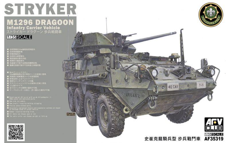 AFV CLUB 1/35 35319 M1296 ICV DRAGON STRYKER