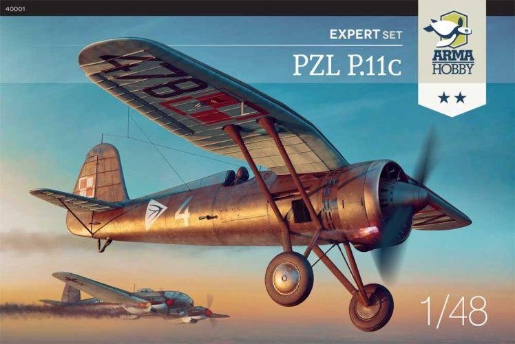 ARMA HOBBY 1/48 40001 PZL P.11C EXPERT SET