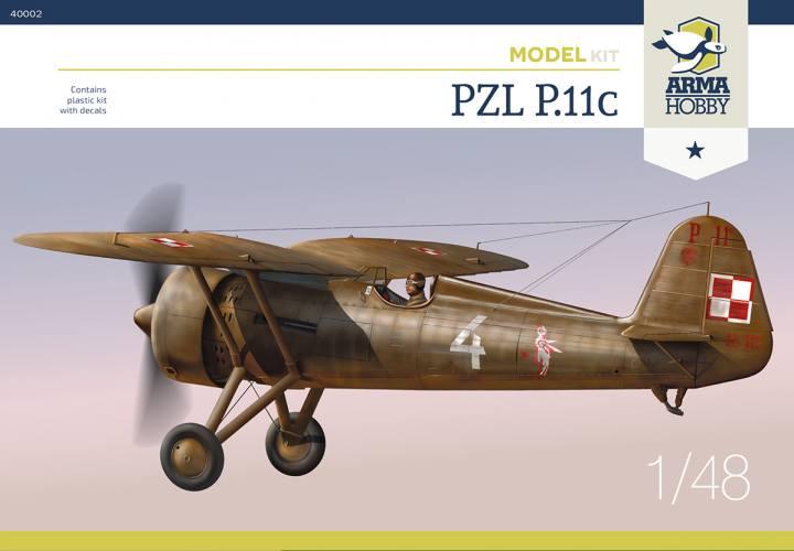 ARMA HOBBY 1/48 40002 PZL P.11C