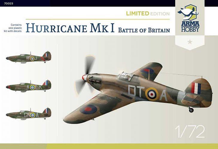 ARMA HOBBY 1/72 70023 HAWKER HURRICANE MK.I BATTLE OF BRITAIN