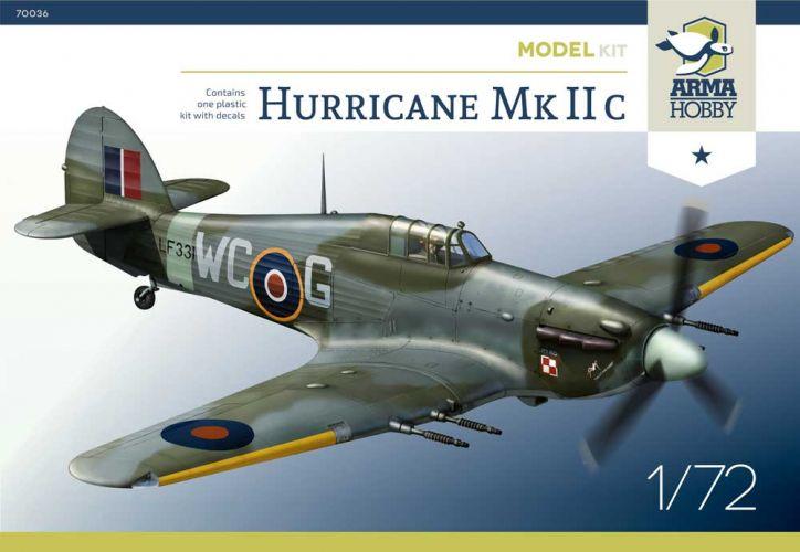 ARMA HOBBY 1/72 70036 HURRICANE MK.IIC