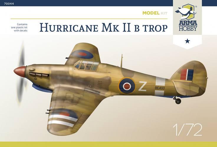ARMA HOBBY 1/72 70044 HURRICANE MK.IIB TROP