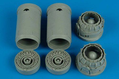 AIRES HOBBY MODELS 1/32 2124 Panavia Tornado exhaust nozzles  designed to be used with Revell kits