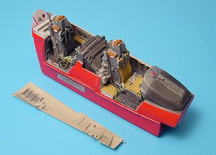 AIRES HOBBY MODELS 1/48 4139 McDonnell F-15E Strike Eagle cockpit set  designed to be used with Revell kits