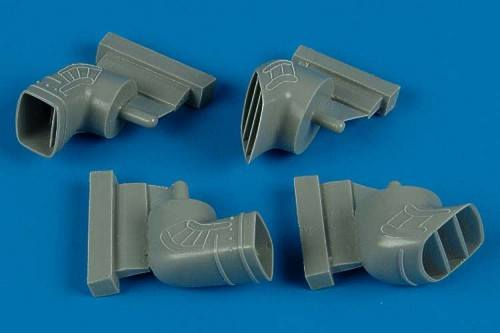 AIRES HOBBY MODELS 1/48 4469 BAe Harrier GR.5/GR.7 exhaust nozzles  designed to be used with Hasegawa kits