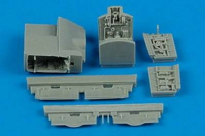 AIRES HOBBY MODELS 1/72 7177 McDonnell-Douglas AV-8B Harrier wheel bay  designed to be used with Hasegawa kits