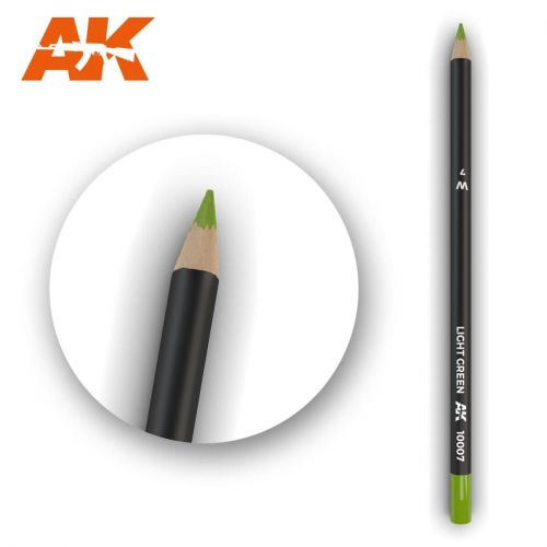 AK INTERACTIVE  10007 LIGHT GREEN MODELLING PENCIL