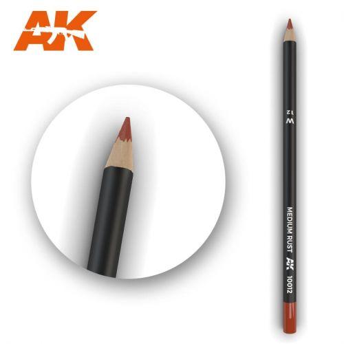 AK INTERACTIVE  10012 MEDIUM RUST MODELLING PENCIL