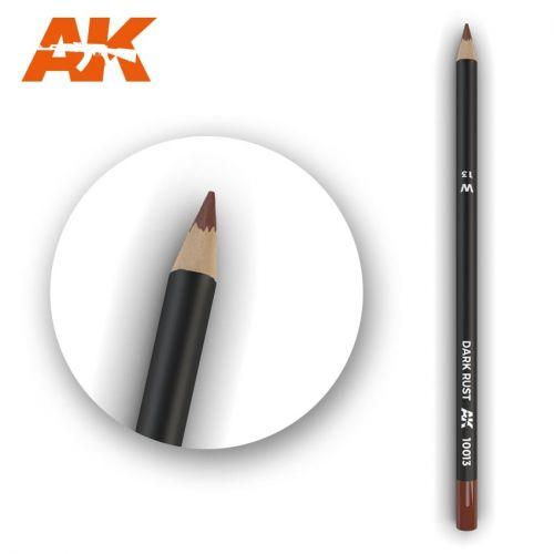 AK INTERACTIVE  10013 DARK RUST MODELLING PENCIL