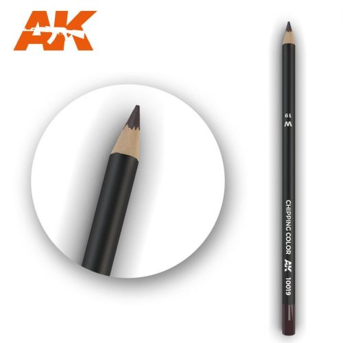AK INTERACTIVE  10019 CHIPPING COLOUR MODELLING PENCIL
