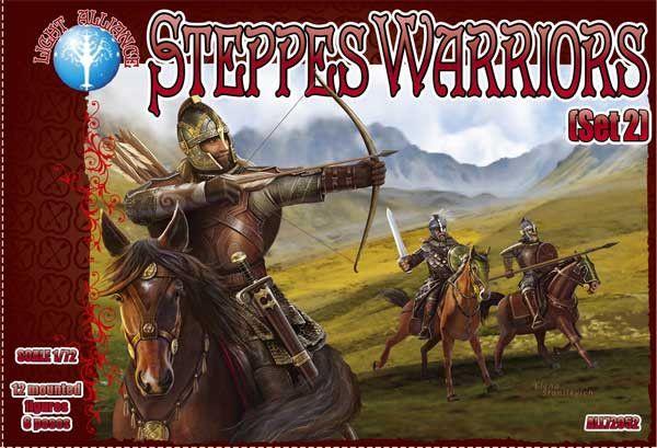 DARK ALLIANCE 1/72 72052 STEPPES WARRIORS SET 2