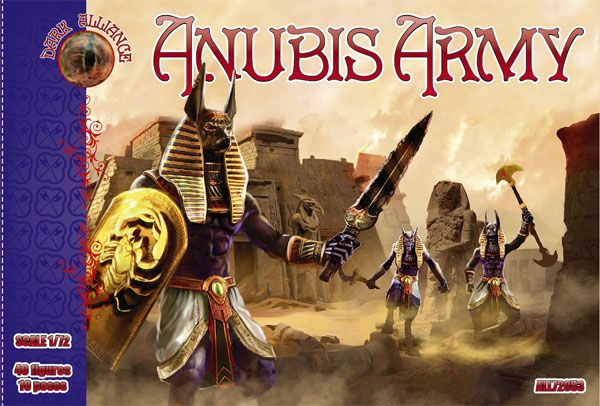 DARK ALLIANCE 1/72 72053 ANUBIS ARMY