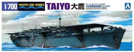AOSHIMA 1/700 04520 TAIYO IJN AIRCRAFT CARRIER