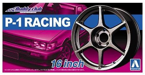 AOSHIMA 1/24 05251 P-1 RACING 16 INCH WHEELS