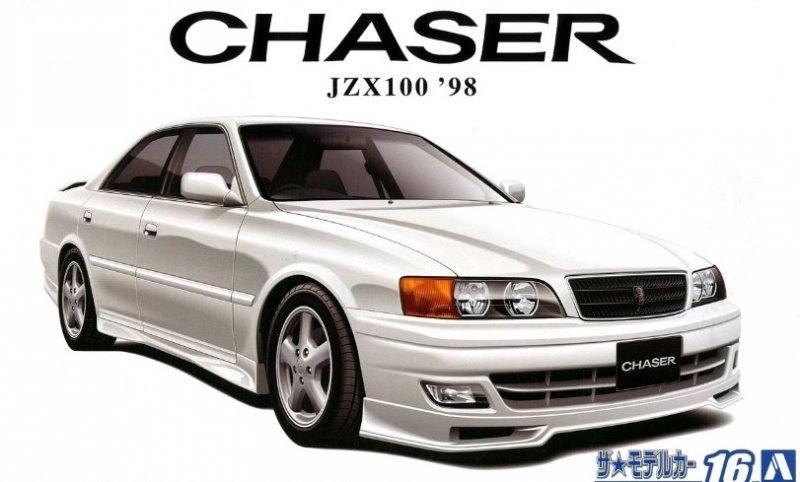 AOSHIMA 1/24 05859 TOYOTA JZX100 CHASER  98
