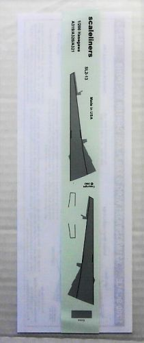 1/200 1719. SCALELINERS SL2-13  A319/A320/A321 WING AND TAILPLANE SECTIONS