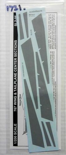 1/200 1731. SCALELINERS SL2-06 767 WING AND TAILPLANE CENTER SECTIONS