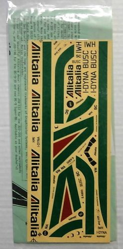 1/144 1695. JET SET DECALS JSD-135 ALITALIA DC-10-30/A300