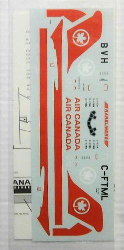 1/144 1697. RARELINERS AIR CANADA DC-9