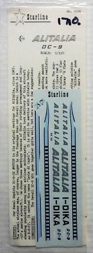 1/120 1710. STARLINE F004 - ALITALIA DC-9