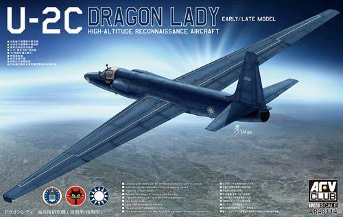 AFV CLUB 1/48 48114 LOCKHEED U-2C DRAGON LADY ROCAF EARLY/LATE TYPE