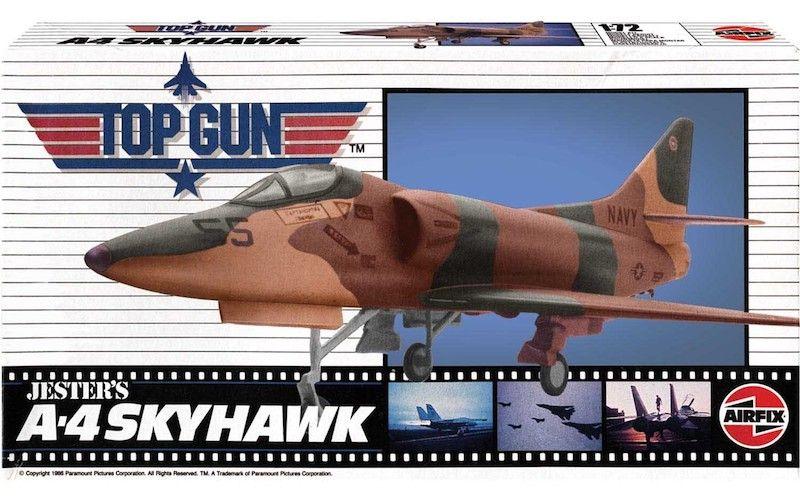 AIRFIX 1/72 00501 TOP GUN JESTER S A-4 SKYHAWK